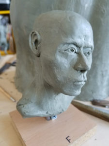 Bust sculpture workshop